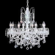 James Moder 40728S22 Regalia Crystal Silver Ceiling Chandelier