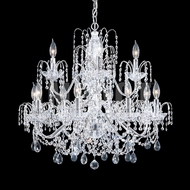 James Moder 40730S22 Regalia Crystal Silver Hanging Chandelier