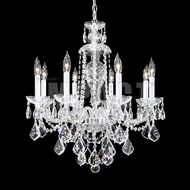 James Moder 40798S22 Place Ice Crystal Silver Ceiling Chandelier