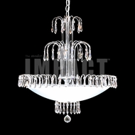 James Moder 40878S22 Silver Hanging Chandelier