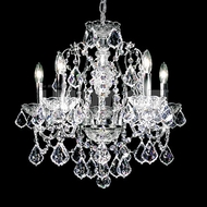 James Moder 40905S22 Regalia Crystal Silver Mini Chandelier Lighting