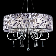 James Moder 40926S22-79 Silver Drum Drop Lighting
