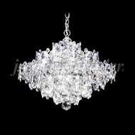 James Moder 91337S22 Continental Fashion Crystal Silver Lighting Chandelier