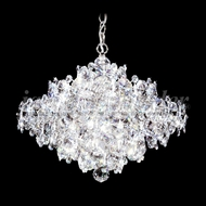 James Moder 91338S22 Continental Fashion Crystal Silver Chandelier Lamp