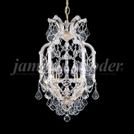 James Moder 91695GL22 Maria Theresa Grand Crystal Gold Lustre Foyer Lighting