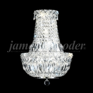James Moder 92511S22 Prestige Crystal Silver Wall Light Sconce