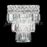 James Moder 92521S22 Prestige Crystal Silver Wall Light Sconce