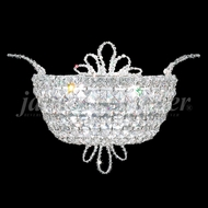 James Moder 94107S22 Princess Crystal Silver Wall Sconce