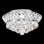 James Moder 94128S22 Jacqueline Crystal Silver Ceiling Light