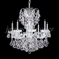 James Moder 94208S22-XF Vienna Crystal Silver Lighting Chandelier