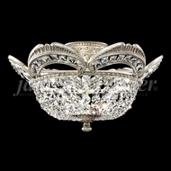 James Moder 94344PW22 Dynasty Cast Brass Crystal Pewter Ceiling Lighting Fixture