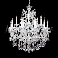 James Moder 94735S22 Maria Theresa Royal Crystal Silver Lighting Chandelier