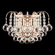 James Moder 94802G22 Jacqueline Crystal Gold Wall Mounted Lamp