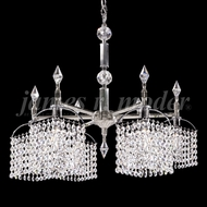 James Moder 95161S22 Tekno Mini Silver Mini Chandelier Light
