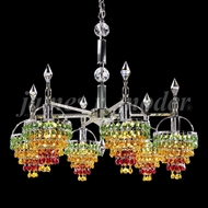 James Moder 95165S2GEB1 Tekno Mini Silver Mini Ceiling Chandelier