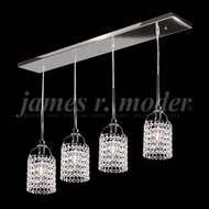 James Moder 95390S11 Tekno Mini Silver Multi Ceiling Pendant Light