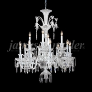 James Moder 96122S22 Le Chateau Crystal Silver Chandelier Light