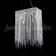 James Moder 96179S22 Continental Fashion Silver Chandelier Light