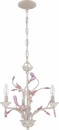 Craftmade 1023P-ATL Antique Linen Mini Chandelier Lamp
