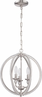Craftmade 1043C-BNK Brushed Nickel Mini Hanging Chandelier