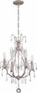 Craftmade 1074C-AO Athenian Obol Mini Lighting Chandelier