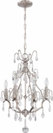 Craftmade 1074C-BNK Brushed Nickel Mini Chandelier Lamp