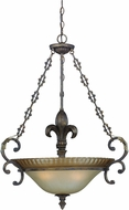 Craftmade 25723-BBZ Devereaux Burleson Bronze Hanging Lamp