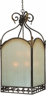 Craftmade 25739-BBZ Devereaux Burleson Bronze 27  Foyer Lighting Fixture