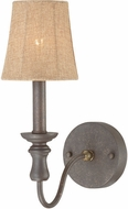 Craftmade 27531-SI Quincy Seville Iron Lamp Sconce