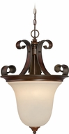 Craftmade 28023-SPZ Seville Spanish Bronze Drop Ceiling Lighting