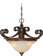Craftmade 28053-SPZ Seville Spanish Bronze Ceiling Light Pendant