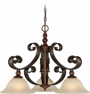 Craftmade 28072-SPZ Seville Spanish Bronze Mini Chandelier Light