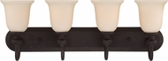 Craftmade 28504-GB Willow Park Gothic Bronze 4-Light Bathroom Wall Sconce