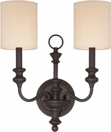 Craftmade 28562-GB Willow Park Gothic Bronze Wall Sconce Light