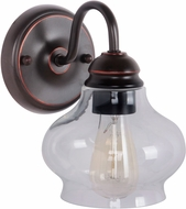 Craftmade 35001-OBG Yorktown Contemporary Oil Rubbed Gilded Wall Sconce