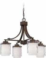Craftmade 35424-PR Kenswick Peruvian Bronze Mini Chandelier Light