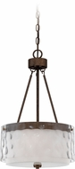 Craftmade 35493-PR Kenswick Peruvian Bronze Drop Ceiling Light Fixture