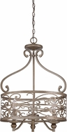 Craftmade 35833-AO Worthington Athenian Obol Foyer Light Fixture
