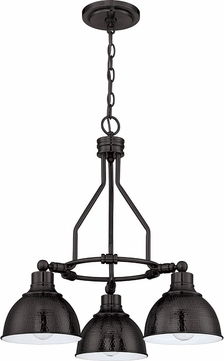 Craftmade 35923-ABZ Timarron Aged Bronze Mini Chandelier Light