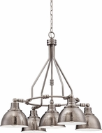 Craftmade 35925-AN Timarron Antique Nickel Chandelier Light