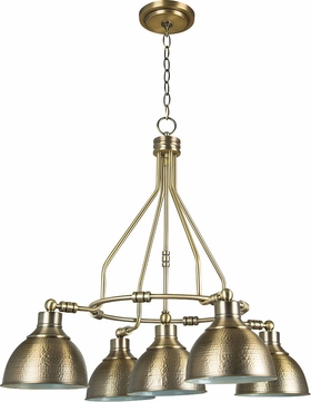 Craftmade 35925-LB Timarron Legacy Brass Ceiling Chandelier