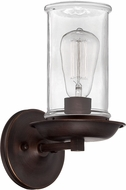 Craftmade 36161-ABZ Thornton Aged Bronze and Natural Rope Wall Sconce Lighting