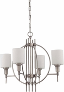 Craftmade 37224-AN Meridian Contemporary Antique Nickel Ceiling Chandelier