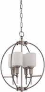 Craftmade 37234-AN Meridian Contemporary Antique Nickel Mini Lighting Chandelier