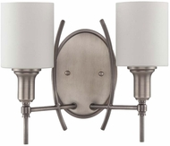 Craftmade 37262-AN Meridian Contemporary Antique Nickel Wall Sconce Light