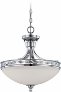 Craftmade 37553-CH Saratoga Chrome Ceiling Pendant Light