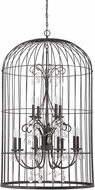Craftmade 38412-VI Ivybridge Valencian Iron 12-Light Foyer Lighting