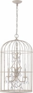 Craftmade 38423-FW Ivybridge French White 3-Light Foyer Light Fixture