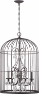 Craftmade 38423-VI Ivybridge Valencian Iron 3-Light Foyer Lighting Fixture