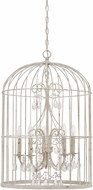 Craftmade 38425-FW Ivybridge French White 5-Light Entryway Light Fixture
